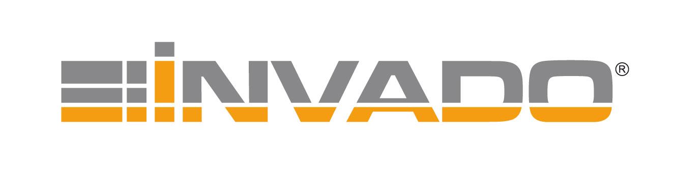 logo INVADO + pole ochronne PANTONE